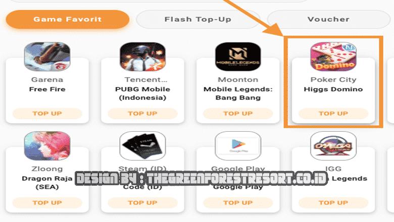 situs dan aplikasi untuk top up murah