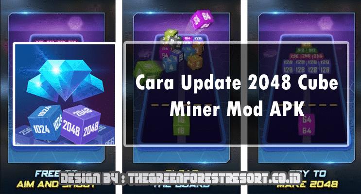 cara memperbarui cube miner ke versi terbaru
