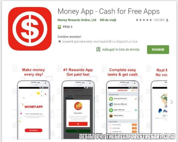 Aplikasi Penghasil Uang Money App
