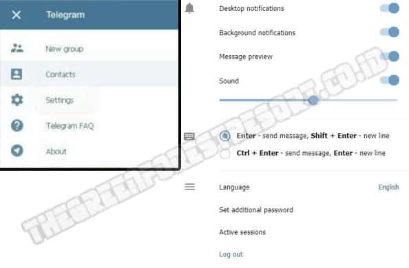 Cara Logout Telegram Web1