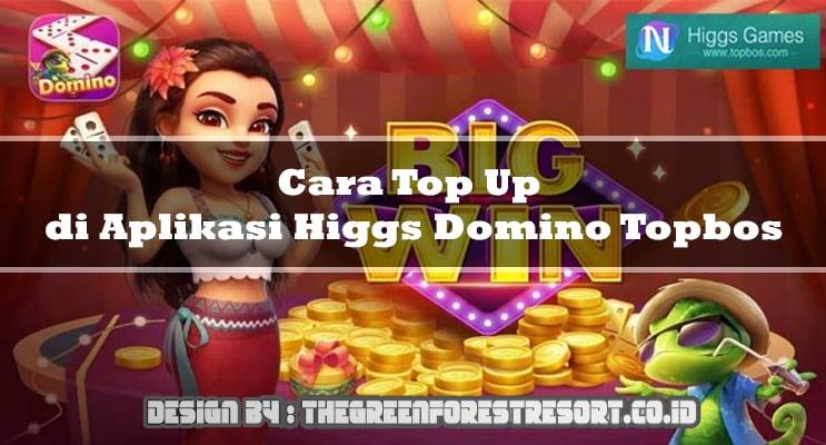 Cara Top Up di Aplikasi Higgs Domino Topbos