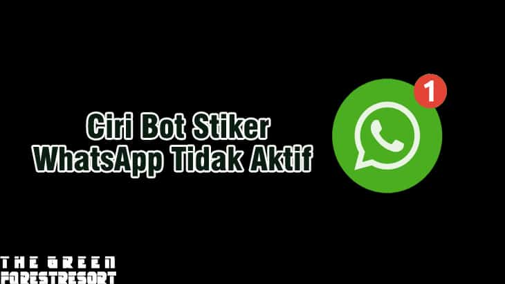 Ciri Nomor Bot Sticker WhatsApp Yang Sudah Tidak Aktif