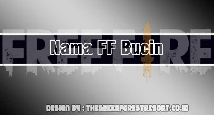 Cover Nama FF Bucin