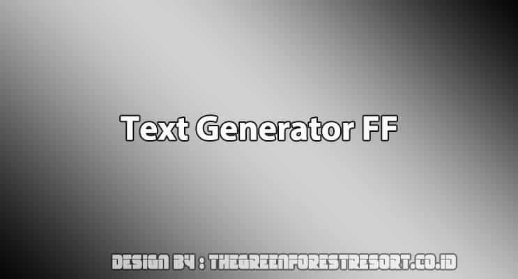 Cover Text Generator FF