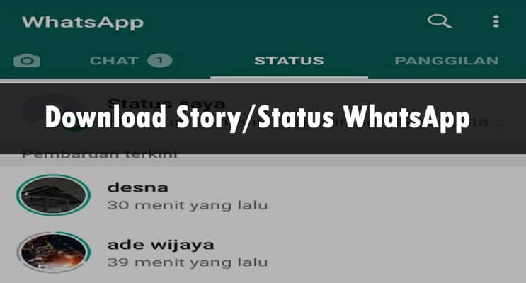 Download Story atau status whatsapp