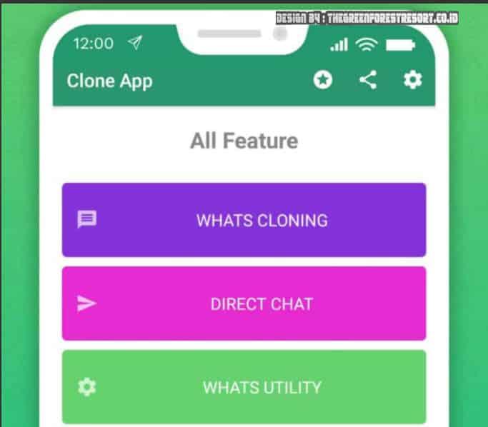 Fitur Pada WhatsApp Clone
