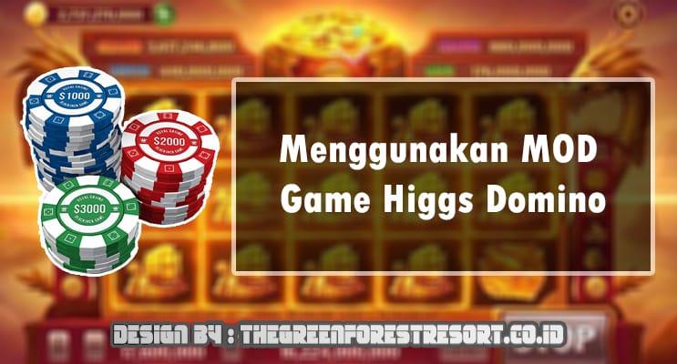 Menggunakan MOD Game Higgs Domino