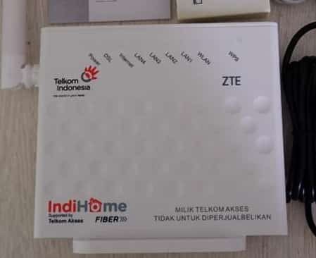 Router Indihome Zte f609