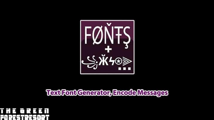 Text Font Generator