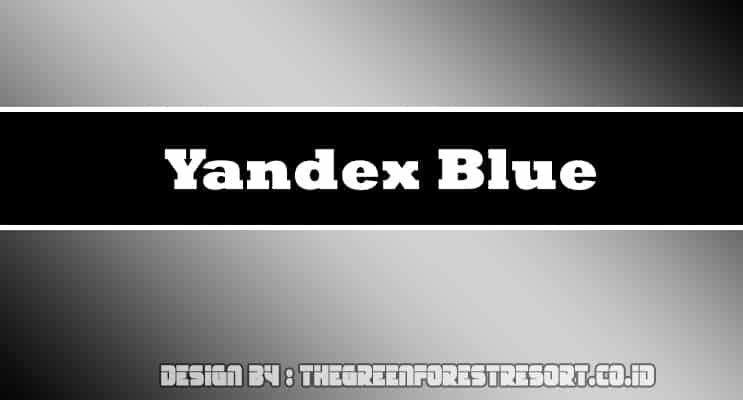 Yandex Blue