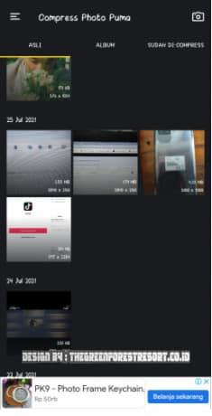 tutor 1 apl 5 Cara Mengubah Ukuran Foto Menjadi 100kb